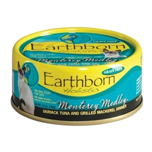Earthborn Holistic Monterey Medley Canned Cat Food 5.5 oz