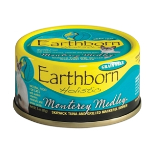 Earthborn Holistic Monterey Medley Cat Food 3 oz