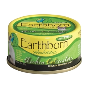 Earthborn Holistic Chicken Catcciatori Cat Food 3 oz