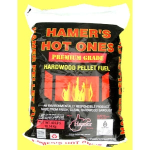 Hamer's Hot Ones Pellet Fuel