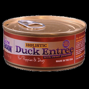 Holistic Health Extension Duck & Sweet Potato Entree, For Dogs 24x5.5 oz.
