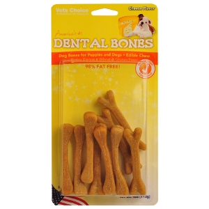 Dental Bone - Cheese 6pk