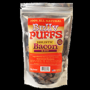 Holistic Health Extension Bully Puffs Bacon 5 oz.