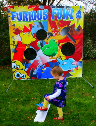 Furious Fowl - Carnival Game
