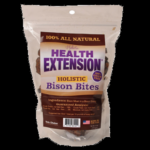 Holistic Health Extension Bison Bites 6 oz.