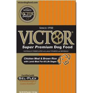 Victor® Chicken Meal, Brown Rice with Lamb Meal Dog Food