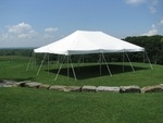 Canopy 20'x30' white installed