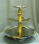 Tray - 3 Tier (Stainless Steel)