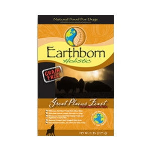 Earthborn Holistic Great Plains Feast Dog Food 28lb