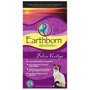 Earthborn Feline Vantage For Cats & Kittens 6lb