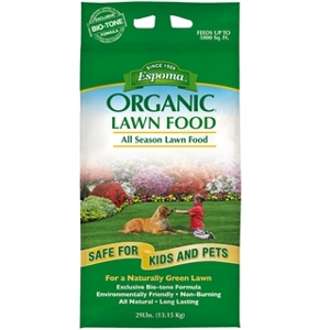 Espoma Organic All Season Lawn Food 29lb