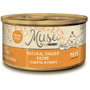 Purina® Muse® Natural Chicken Recipe Cat Food in Pate