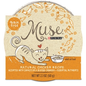 Purina® Muse® Natural Chicken Recipe Cat Food in Chowder