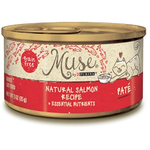 Purina® Muse® Natural Salmon Recipe Cat Food in Pate