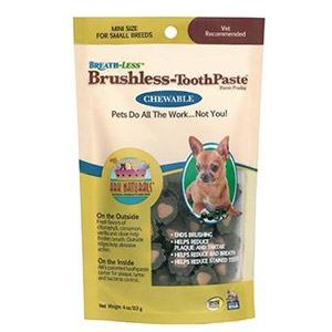 Ark Naturals® Breath-Less Brushless™ ToothPaste™ Dental Chews - LG