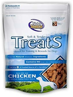 NutriSource Soft & Tender Chicken Treats