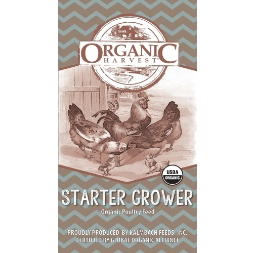 22% Organic Broiler Start to Finish Crumbles