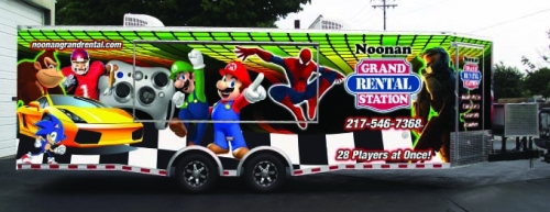 Mobile Video Game Theater