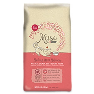 Purina Muse Sailing with Salmon Adult Dry Cat Food