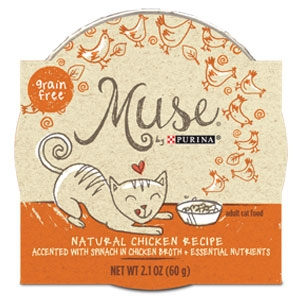 Purina Muse Natural Chicken Recipe Adult Cat Food