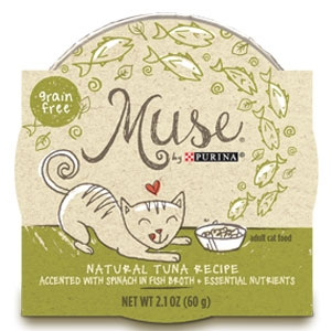 Purina Muse Natural Tuna Recipe Adult Cat Food