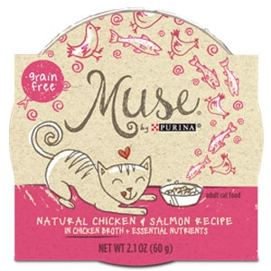 Purina Muse Natural Chicken & Salmon Recipe Adult Cat Food