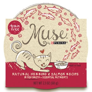 Purina Muse Natural Herring & Salmon Recipe Adult Cat Food