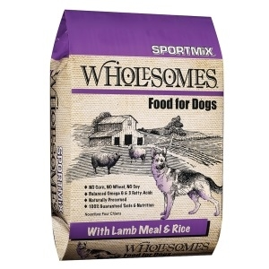 Sportmix Wholesomes Dog Food - Lamb Meal & Rice