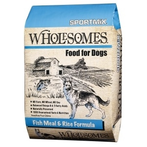 Sportmix Wholesomes Dog Food - Fish Meal & Rice