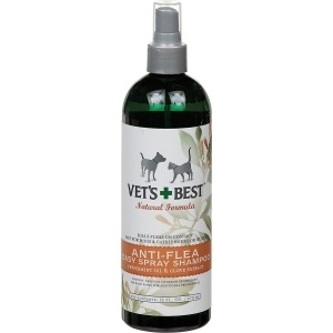 Vets Best Natural Anti-Flea Easy Spray Shampoo