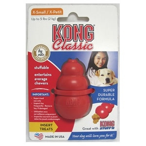 Kong Classic Extra Small Red