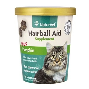 Hairball Aid Plus Pumpkin Cat Soft Chew Cup
