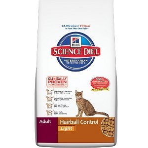 Science Diet® Adult Hairball Control Light