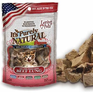 It's Purely Natural® Beef Lung Treats Treats for Cats