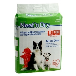 Neat 'n Dry Floor Protection & Training Pads for Puppies and Dogs of All Ages, Regular