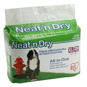 Neat 'n Dry Floor Protection & Training Pads for Puppies and Dogs of All Ages, Extra Large