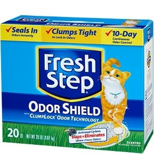 Fresh Step® Odor Shield Scented Litter 25 lb