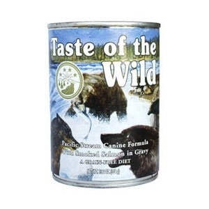 Taste of the Wild Pacific Stream Canine Formula With Smoked Salmon in Gravy