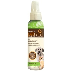 Sentry PetRelief Anti-Itch Spray