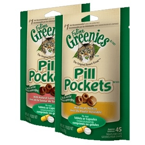 Pill Pockets® Treats for Cats Chicken 1.6oz