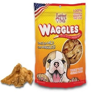 Waggles® 100% All Natural Chicken Skins