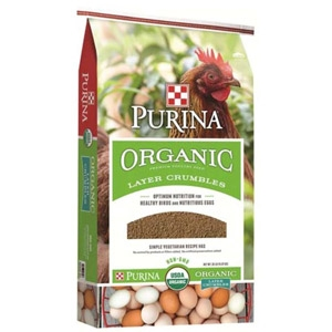 Purina® Organic Layer Crumbles 35lbs.