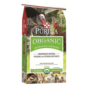 Purina® Organic Scratch Grains 35lbs.