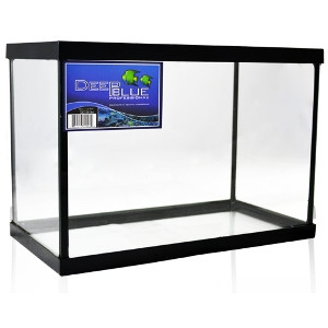 Deep Blue 2.5 Gallon Standard Aquarium