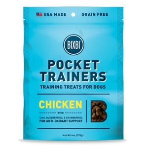 Bixbi Pocket Trainers Chicken 6oz.