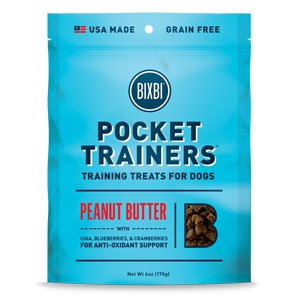 Bixbi Pocket Trainers Peanut Butter 6oz.