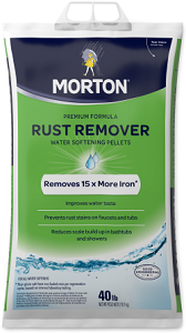 Morton® Rust Remover Water Softning Pellets