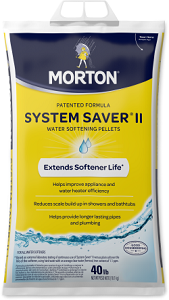 Morton® System Saver® II Water Softening Pellets