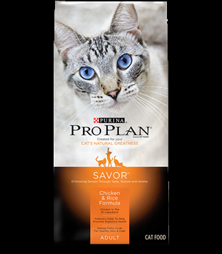Purina Pro Plan Savor Chicken and Rice Cat Food