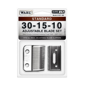 Wahl 30-15-10 Adjustable Blade Set